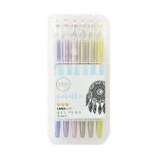 Kaisercraft Gel Pen Box 12 Metallic Colours